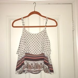 Floral tank, Small